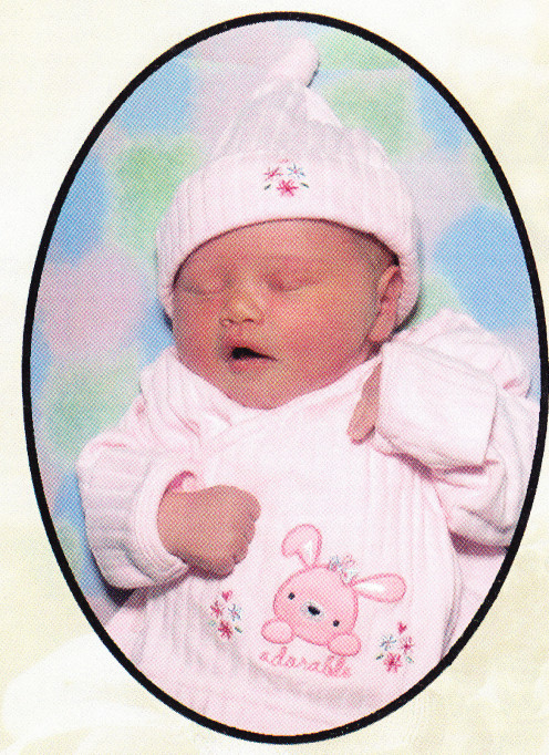 Alana Jean ...two days old...