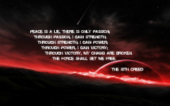 An Analysis of the Sith Code by a Jedi Master