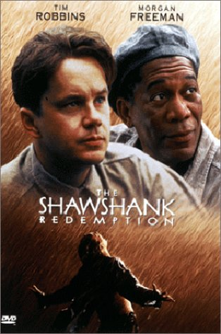 Tim Robbins and Morgan Freeman starred in the BEST Stephen King adaptation ever - The Shawshank Redemption.