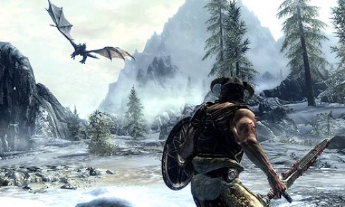 Elder Scrolls V: Skyrim Gameplay Screenshot