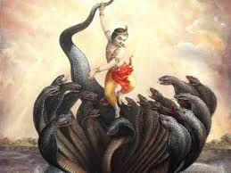 Krishna's feat as a child!