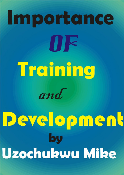 The importance of training and development. Topic related to management study.