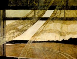 "Andrew Wyeth's ""Wind from the Sea"" 1947"