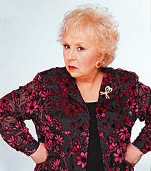 """Doris Roberts played one of TV's most notorious mother-in-laws on """"Everybody Loves Raymond."""""""