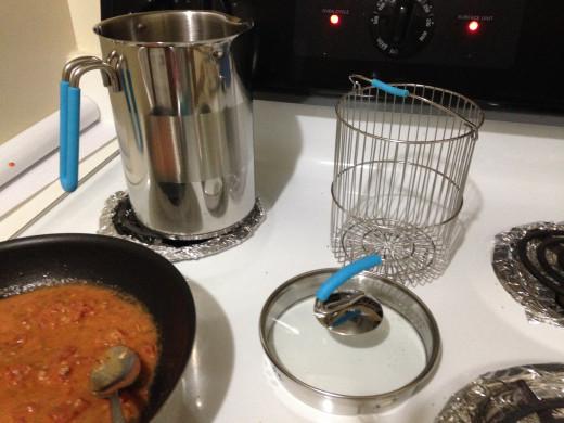 My fancy pasta cooker.