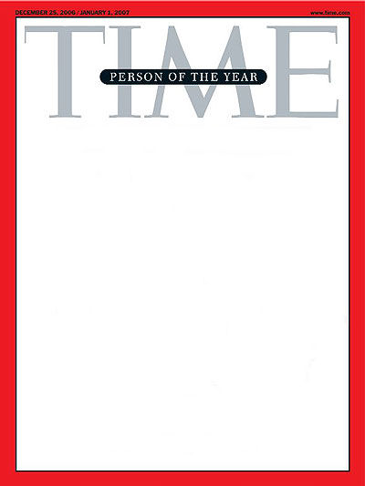 If you could be on the TIMES magazine cover, what do you want the title to be?