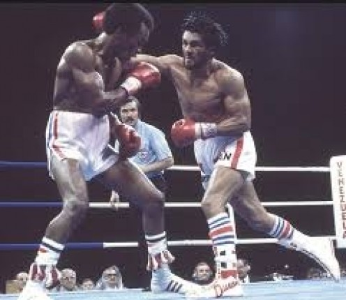 Roberto Duran moved up from lightweight to welterweight to win the championship from the then undefeated Sugar Ray Leonard.