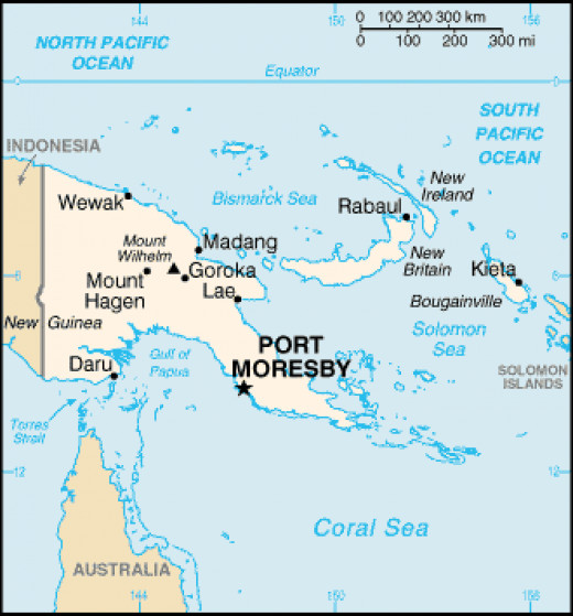 From Port Moresby to the rest of PNG