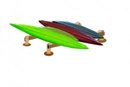Build A Handy Beach Rack For Your Canoes Amp Kayaks
