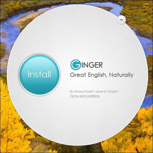 Ginger language checker