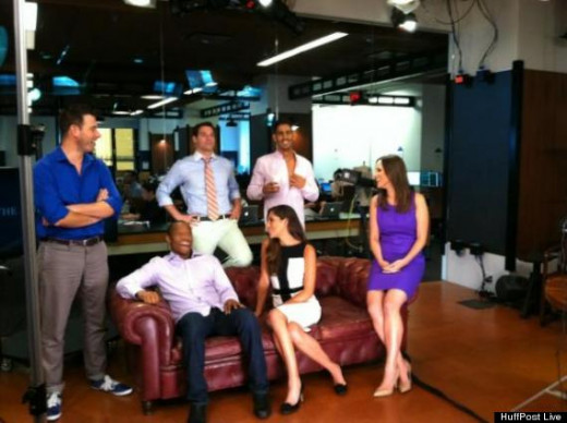 The HuffPost Live team!
