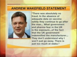 Dr Andrew Wakefield - Read Callous Disregard and decide what the truth is for yourself