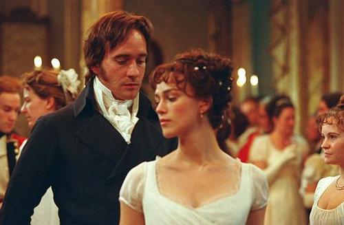 Elizabeth Bennet and Mr. Darcy from Pride and Prejudice, 2005