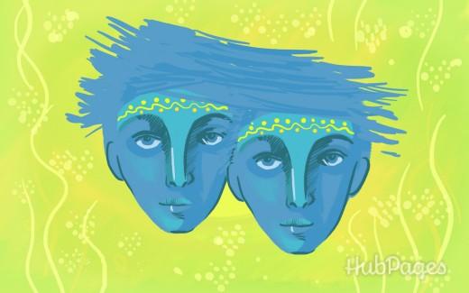 Gemini Symbol: Twins