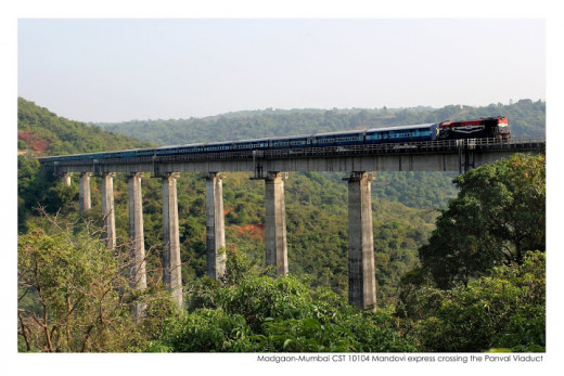 Panval Viaduct, India's tallest and Asia's third tallest rail bridge