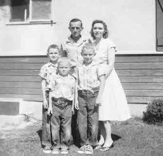 Dad, Mom and the Boys