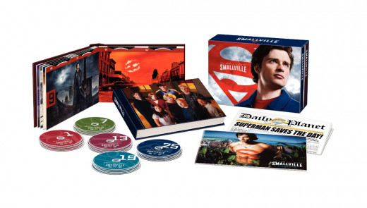 """The complete """"Smallville"""" box-set"""