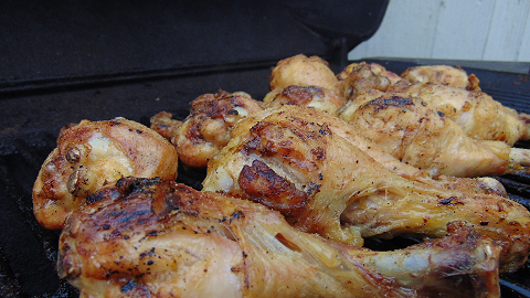 Make sure chicken is cooked thoroughly