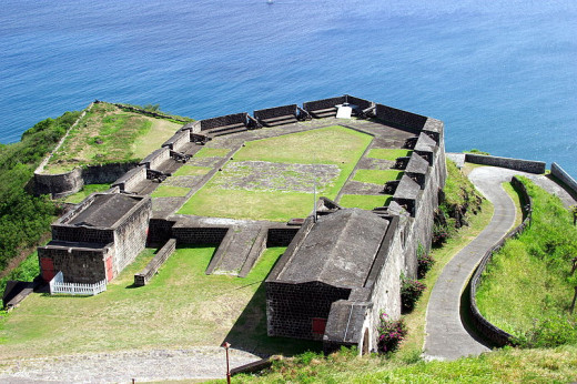 Brimstone Hill Fortress National Park.  Photo by Ukexpat