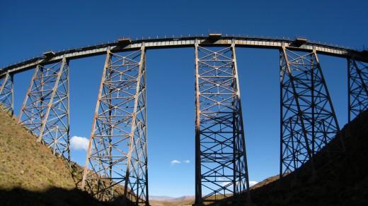 Tren de las nubes, La Polvorilla viaduct.