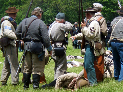 Civil War Days at Conner Prairie includes reenactments.