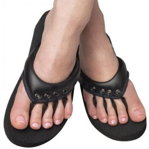 They Enjoy Pedicures & On Occasion A Good Manicure As Well. Men Yoga and Pedicure Sandals, 1 pair, Extra  Large by Beech Sandal Co.