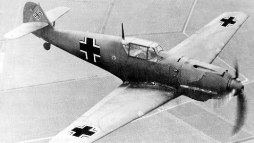 German Messerschmitt BF 109 Bomber