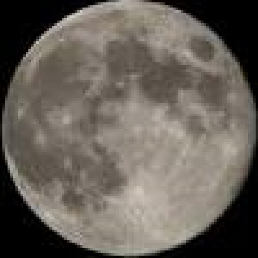 Full moon on Friday the 13th
