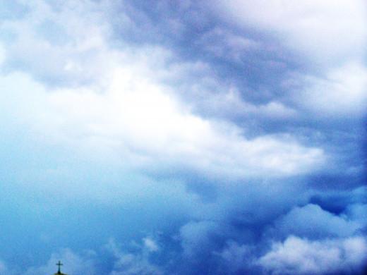 Beneath celestial skies