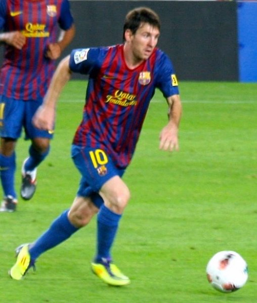 Lionel Messi - Four time FIFA ballon d'or winner