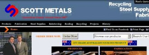 Scot Metal is a company that deals in all sorts of steel supply