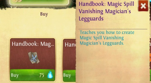 Mage T1 patter, drops in KPL and can be bought with souls.