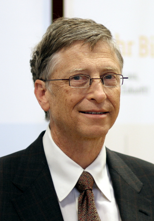 Bill Gates, one of the world's richest men is a Cancer rising (Scorpio sun, Aries Moon)