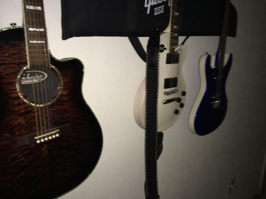 It's nice to have a variety of similar-but-different instruments on hand when it comes to songwriting