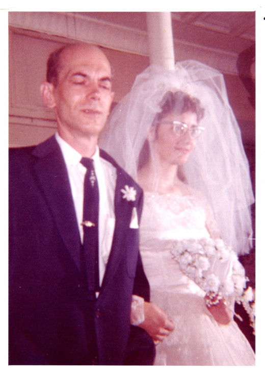 Until the day Dad walked me down the aisle I had never seen him cry, except when our puppy died.