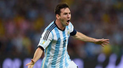 FIFA world cup goals of Lionel Messi
