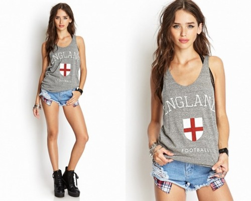 England World Cup t-shirt