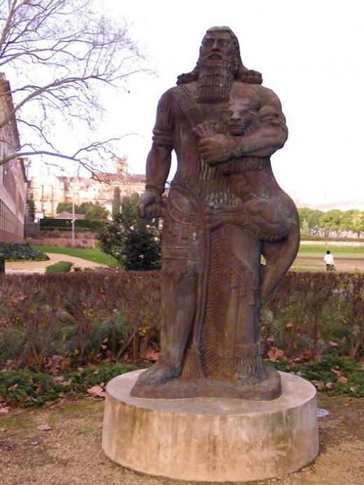 Statue of Gilgamesh