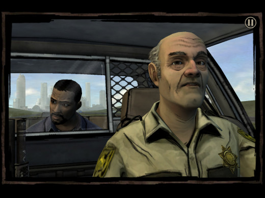 Here I am, anticipating me and this cop getting into some crazy apocalypse hijinks together...