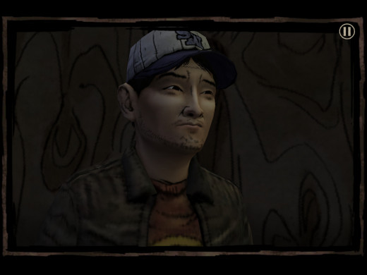 Yes, it's a different version of Glen based on the comic books (which looks like Glen from the TV series) but is actually voiced by Nick Herman