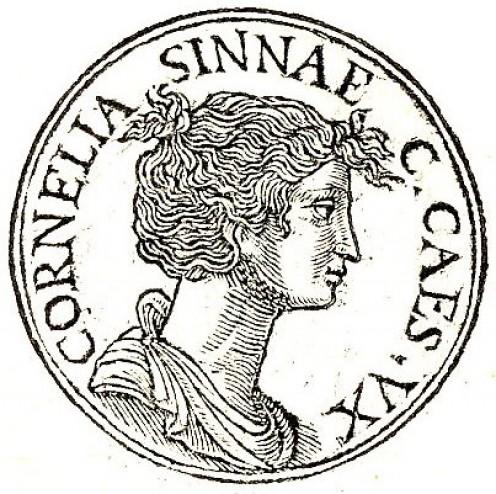Cornelia Cinnae wife of Julius Caesar