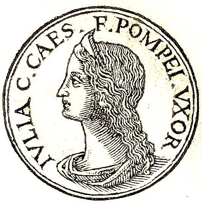 Julia Caesaris daughter of Julius Caesar