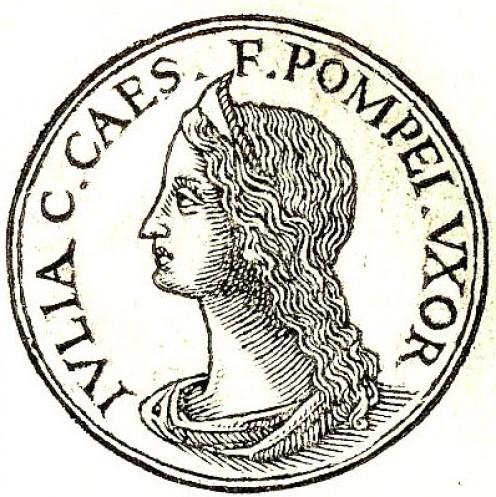 Julia Caesaris daughter of Julius Caesar