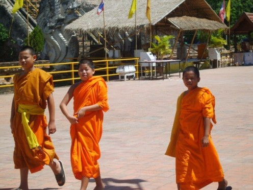 Young boy monks.