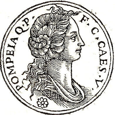 Pompeia second wife of Julius Caesar