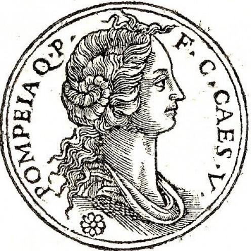 Pompeia second wife of Julius Caesar