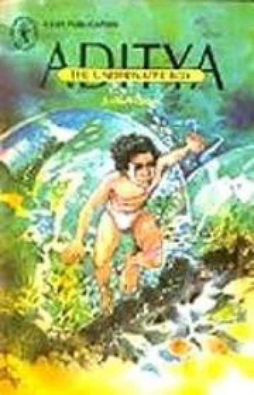 In Aditya The Underwater Boy The Setting Depends On Research
