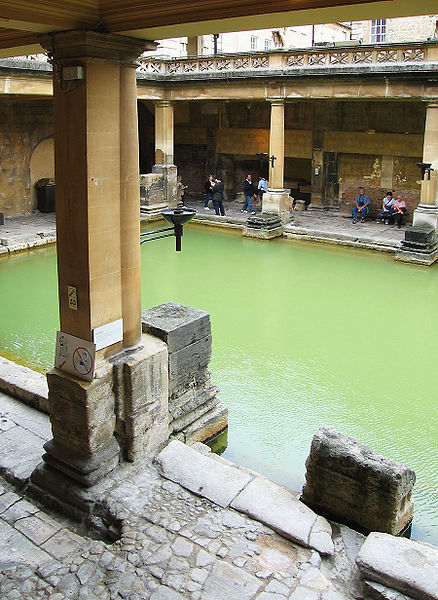 Early Swimming Pool, Bath, England