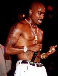 Tupac on stage