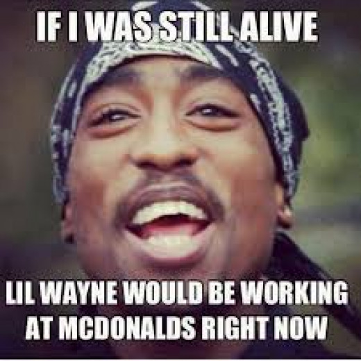 Tupac speaks about Lil Wayne